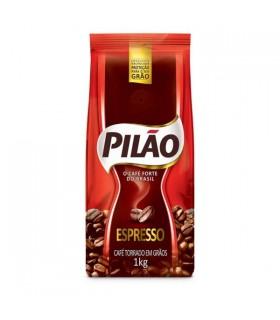 Café Pilao em graos torrado e moido 1kilo